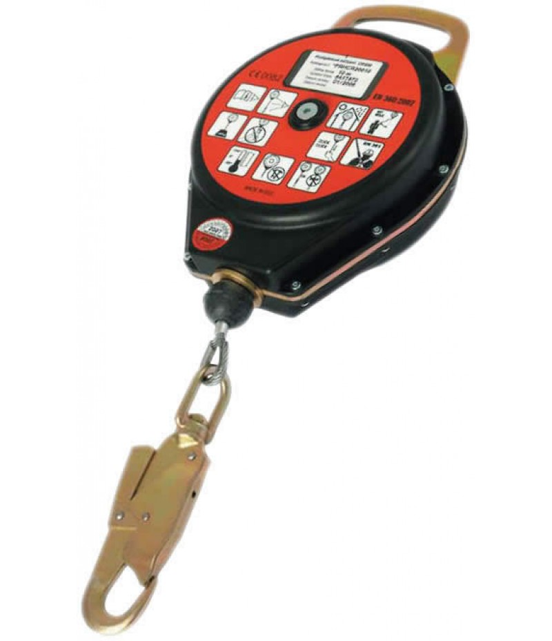 Retractable type fall arrester CR 300